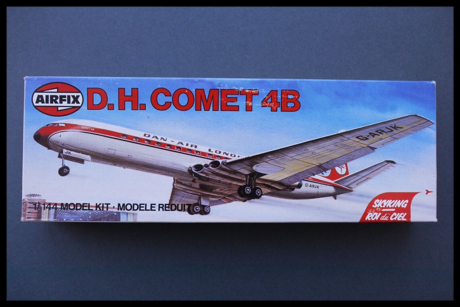 VINTAGE AIRFIX DAN AIR COMET 4B 1 144 SCALE MODEL KIT SEALED BAG