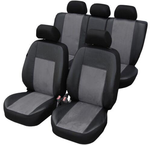 Mercedes W205 Maßgefertigte Kunstleder Alcantra Sitzbezüge