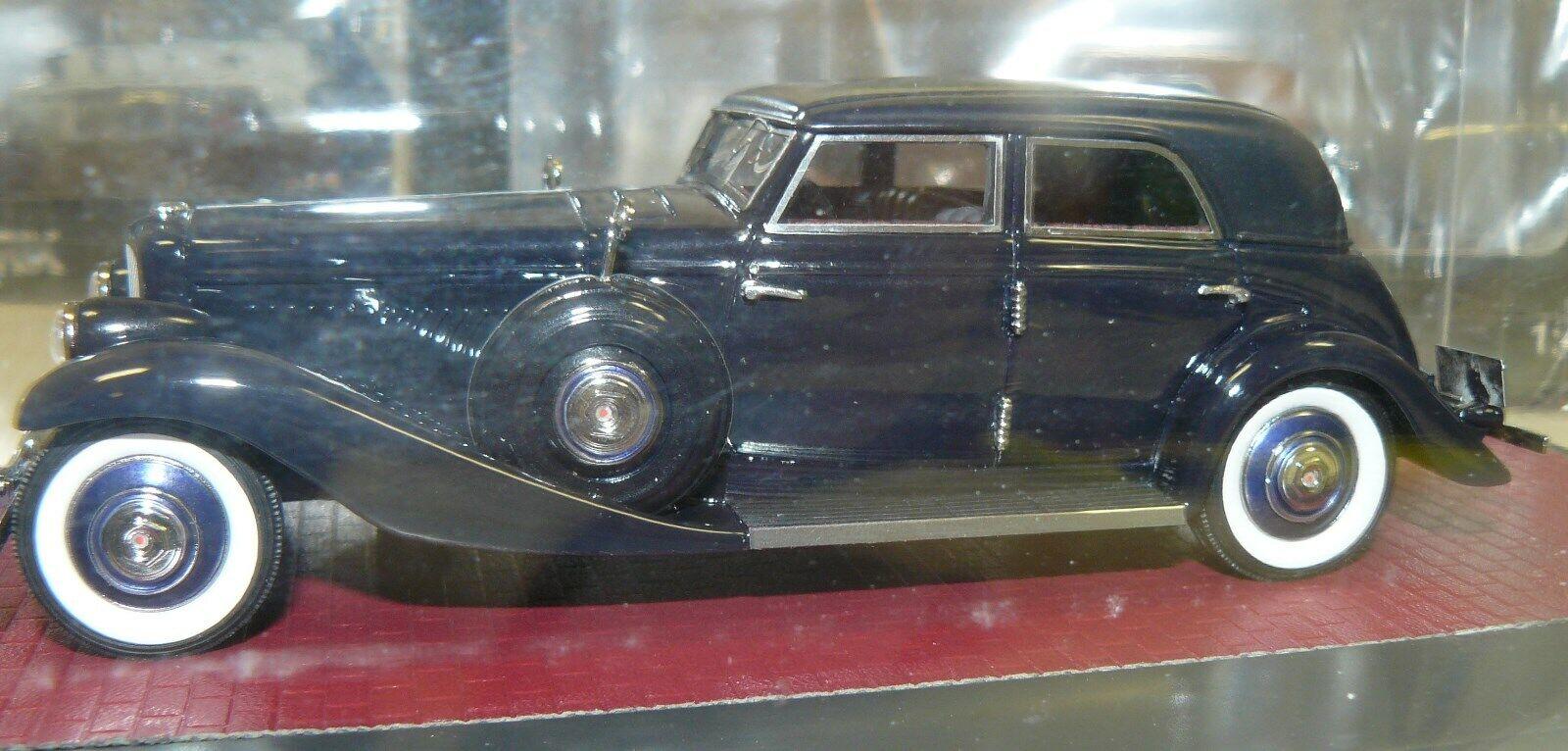 1 43 Matrix, 1935 Duesenburg JN 559-2587 long wheel base Benline , Rollston Bohm