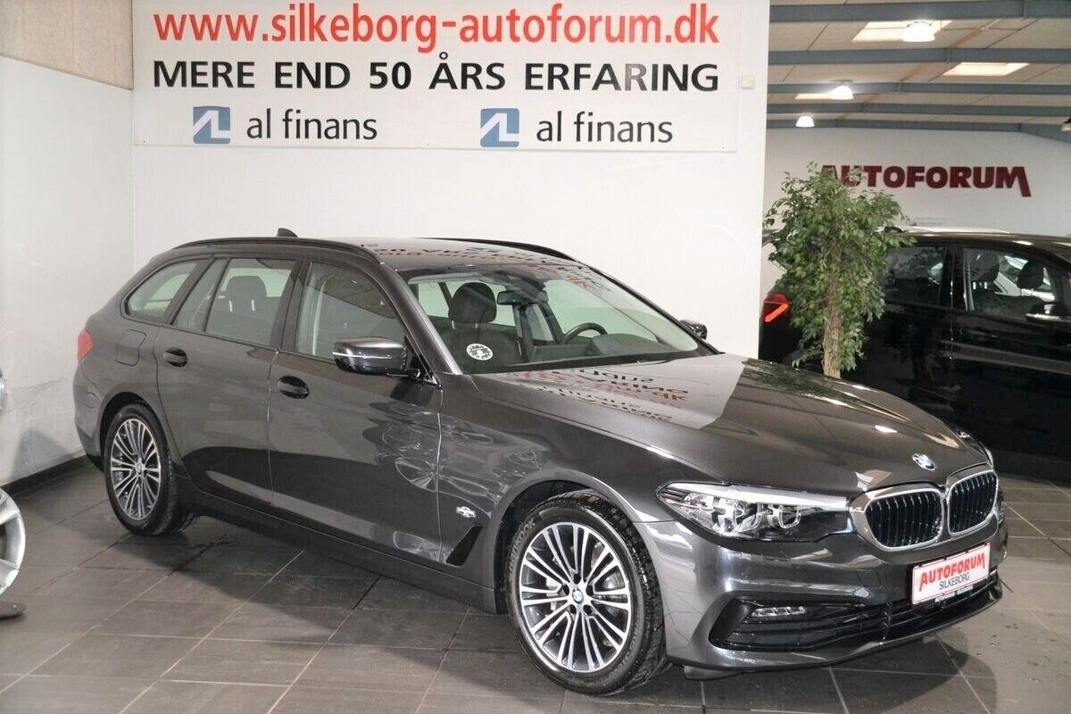 BMW 525d 2,0 Touring Sport Line aut. 5d - 559.900 kr.