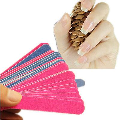 15Pcs Nail Art HU Sanding File Buffer For Salon Manicure UV Gel Polisher AO Tool
