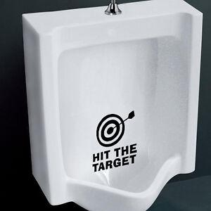 Aufkleber-WC-Deckel-Toiletten-Tattoo-Klo-Sticker-Wandtattoo-Spruch-target