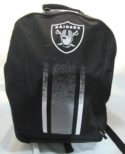 e5d14618d Image is loading NFL-Oakland-Raiders-2016-Stripe-Primetime-Adult-Backpack-