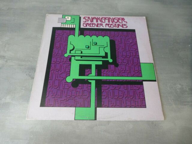 Snakefinger – Greener Postures vinyl album punk new wave kbd