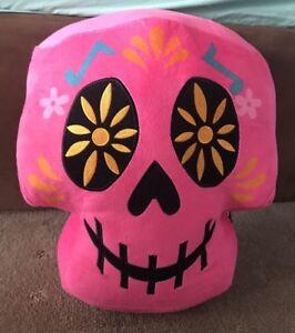 Details about Genuine Coco Skull Plush -35cm Plush - Pink - Soft Toy  Genuine - BNWT