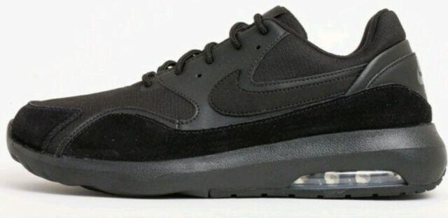 menor cómo utilizar Perezoso  Nike Air Max Nostalgic Black Anthracite Mens Running Shoes UK 9 916781 006  for sale online | eBay