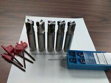 5pcs 90 Indexable End Mill 34x35 Amp 20 Extra Inserts Sandvik R390 506 Sdvk