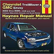 haynes chevrolet trailblazer 02 09 ext ls lt ltz owners service rh ebay co uk Chevrolet Trailblazer LT 4x4 Chevy Trailblazer