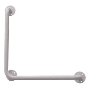 Haltegriffe Winkelgriffe  Duschgriffe 50/50 cm links/rechts montierbar Bad weiß