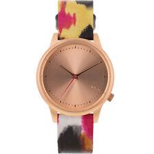 Komono Estelle Aquarelle Rose Gold / Multicolor Quartz Analog Women's Watch KOM