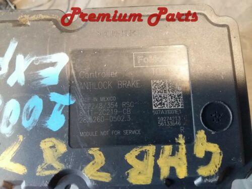 LINCOLN NAVIGATOR  ABS PUMP WITH MODULE ANTI LOCK BRAKE MODULATOR VALVE OEM USED