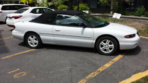 CHRYSLER SEBRIING JXI 1997 CONVERTIBLE