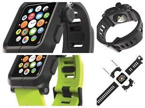 finest selection c95a6 ddc7b Details about LUNATIK EPIK Apple watch Case Band For Watch Series 3-2-1  Polycarbonate 42mm