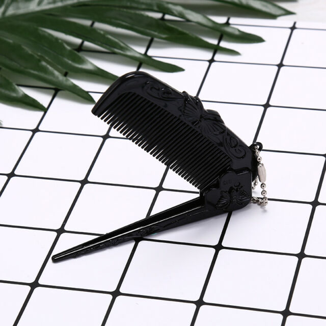 portable hair comb brush heychain foldable massage comb anti-stati chair comb BR