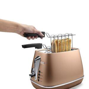DeLonghi-CTI-2103-CP-2-Slot-Toaster-Style-Copper-900W-Extra-Depth-Genuine-NEW