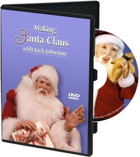 DVD Making Santa Claus with Jack Johnston Polymer Clay Art Doll Sculpting