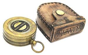Pocket-Sundial-Brass-Sundial-Compass-LONDON