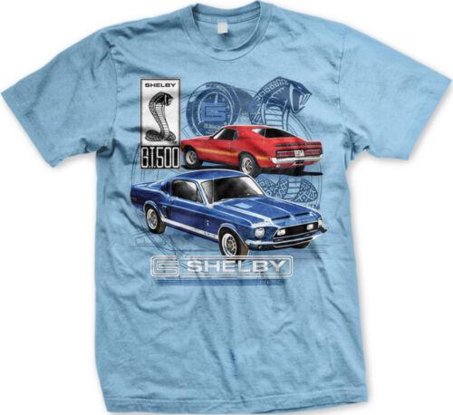 FORD SHELBY COBRA MUSTANG GT 500 Voiture de Course Livraison gratuite NEW T-shirt Homme