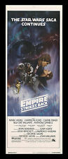 Star Wars THE EMPIRE STRIKES BACK INTERNATIONAL NO PG 14x36 MOVIE POSTER DISPLAY