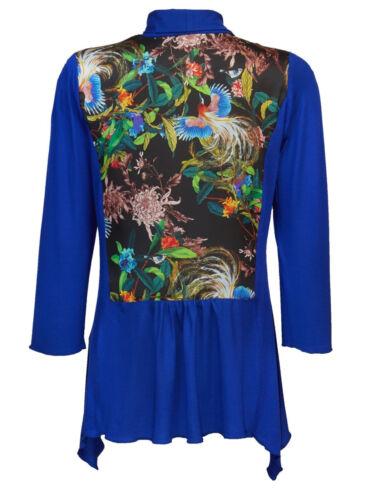KP 69,95 € SALE/%/%/% NEU!! Shirtjacke mit Druck Blueberry Blau