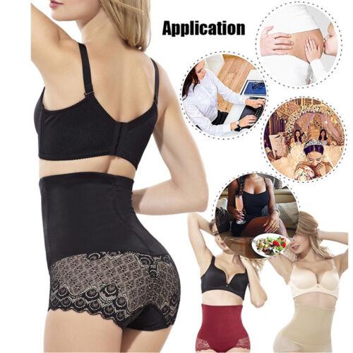 Women Slimming Shaping Briefs Panties High Waist Butt Lift Body Shaper Underwear