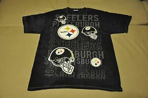 NWOT Pittsburgh Steelers Men s Tie Dye T-Shirt Shirt Jersey Antonio ... e3a103d42