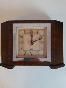 Smiths  Electric ClockEnglish Clocks Vintage Art Deco Smith