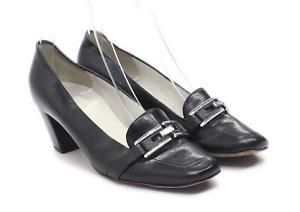 Hogl Damen Größe UK 5.5 Leder schwarz Schuhe