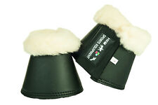 8503 HKM Comfort Imitation Leather Overreach or Bell Boots with Fleece