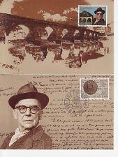 Jugoslawien Nr. 1984-85  Maximumkarten Europa  Werke menschlichen Geistes