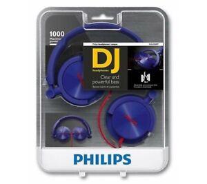 ed76655b23c Image is loading Philips-Headphone-DJ-Monitor-Stereo-Style-SHL3050-Purple-