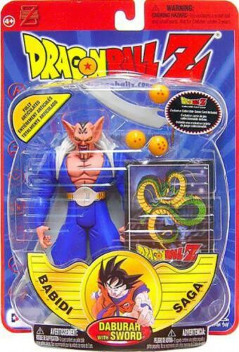 Dragon Ball Z Série 8 Babidi Saga DABURAH figurine avec épée
