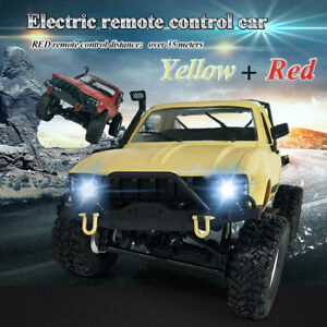 WPL-1-16-2-4GHz-Electrico-RC-Camion-Coche-Off-Road-4WD-Remoto-Control-Regalo-USB