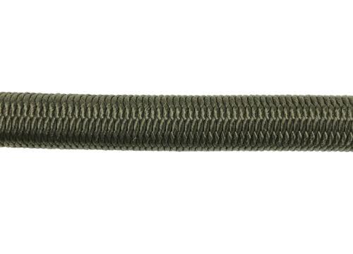 8mm Olive Elastic Bungee Rope x 10 Metres Shock Cord Tie Down