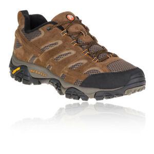 Merrell-Moab-2-pour-Homme-Vent-Chaussures-De-Marche-Marron-Sports-Exterieur-Resistant-a-l-039-eau