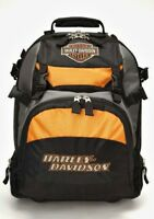 Harley-davidson® Bar & Shield 18 Wheeled Back-pack Bag W/ Helmet Pocket 99411