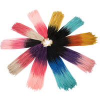 24 Multicolor Synthetic Crochet Twist Braiding Dreadlocks Dread Hair Extension