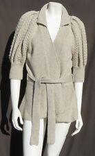 MODA INTERNATIONAL Victoria's Secret Wool Chunky Knit Cardigan Sweater size M