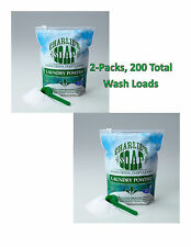 Charlie's Soap Laundry Powder 200 Washloads Hypoallergenic FREE SHIPPING