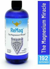 ReMag Magnesium Miracle Pico-Ionic Liquid 16 fl oz by Dr Carolyn Dean VALUE SIZE