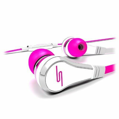 SMS Audio SMS-EB-PNK Street by 50 Cent Wired In-Ear Earphones Headphones Pink