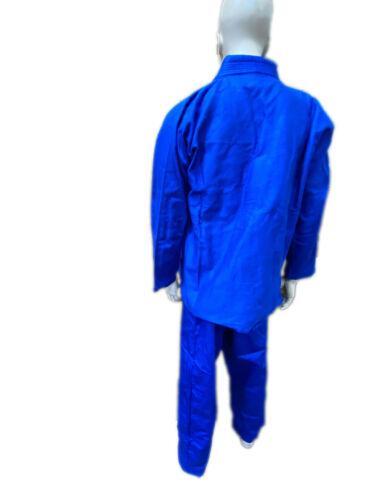 Woldorf USA BJJ uniform jiu jitsu gi student in BLUE color WF LOGO