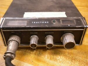 Details about Vintage Truetone 23 Channel CB Radio made in Japan 1976