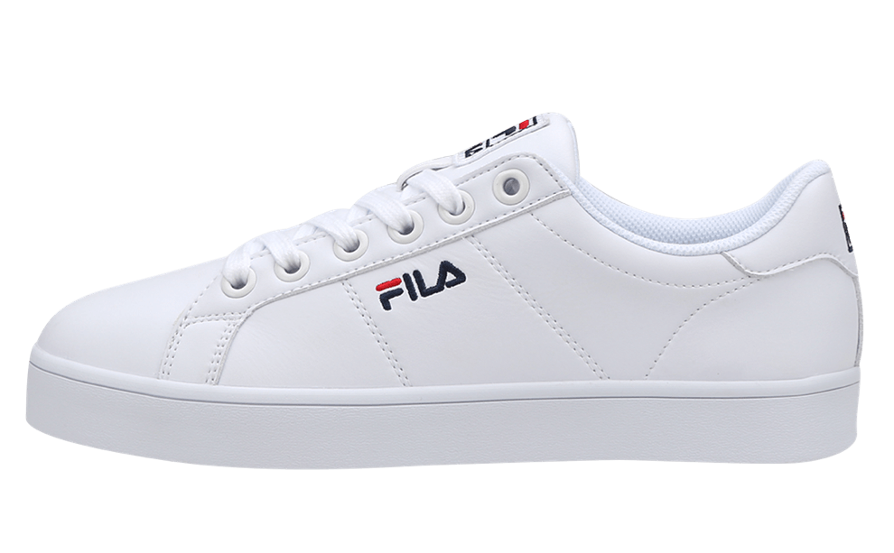 FILA Court Deluxe Authentic Sneakers shoes White Unisex Size US 4-11 FS1SIA1810X