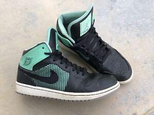 best service 8822a b3fa0 Details about Mens Nike Air Jordan 1 Retro 89 Mint Glow Black Dunk Green  size 12