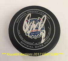 RYAN MCDONAGH Auto SIGNED 2014 STADIUM SERIES Official Game PUCK NY RANGERS CAPT