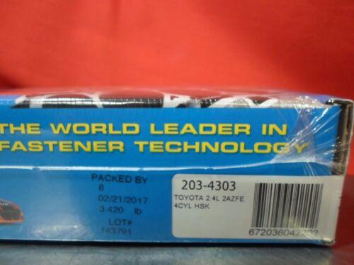 ARP Head Stud Kit 203-4303 for Toyota 2.4L 2AZFE 4 Cylinder HSK
