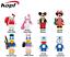 Baukästen Figur Mini DIY Anime Mickey Mouse KT Cat Donald Duck Doraemon 8PCS