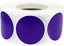 Circle-Dot-Stickers-1-Inch-Round-500-Labels-on-a-Roll-55-Color-Choices miniature 100
