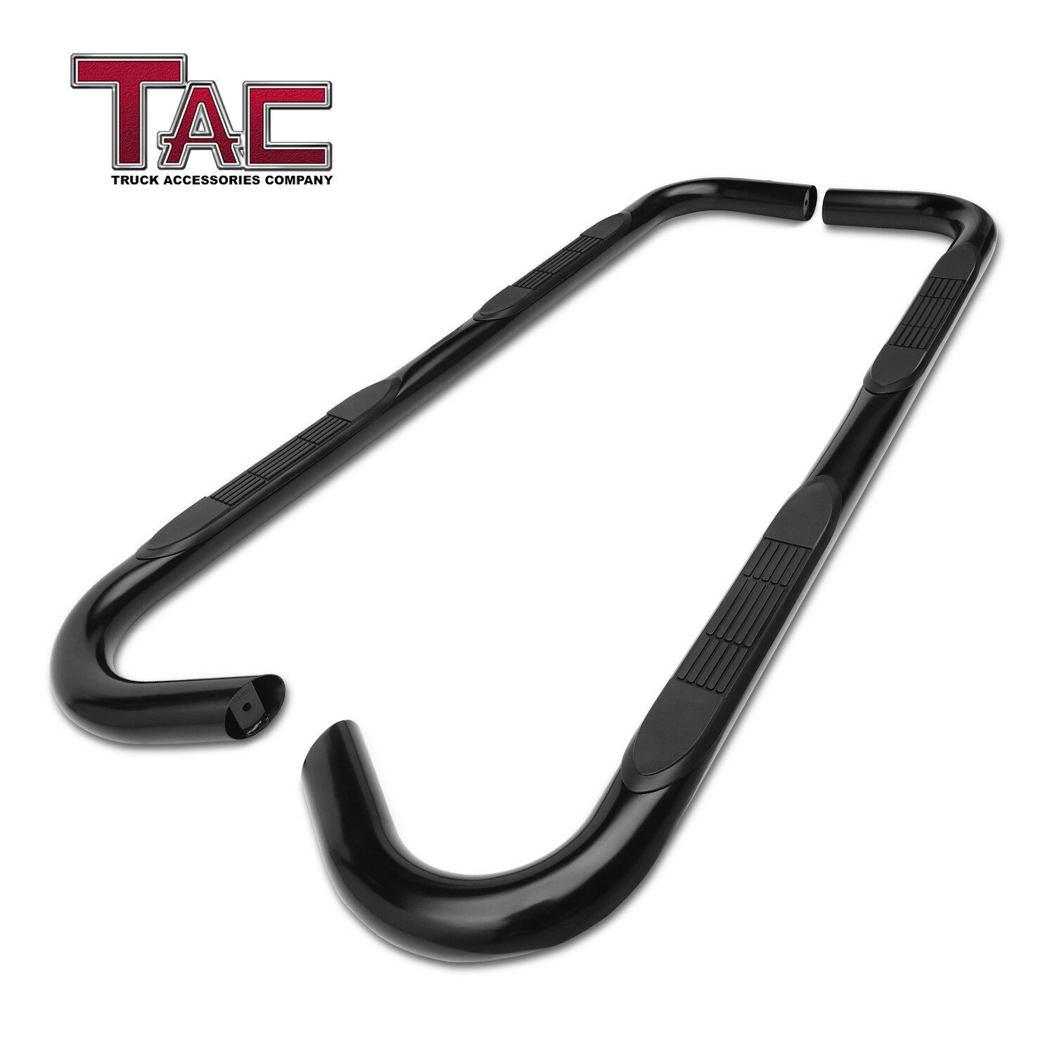 """For 2000-2006 Toyota Tundra Access Cab 3/"""" Side Step Nerf Bar Running Board Black"""